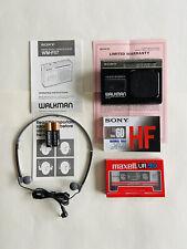 Sony Walkman Wm-F57 Refurbished Works Great