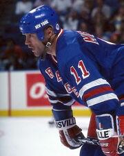 Mark Messier New York Rangers 8x10 Photo
