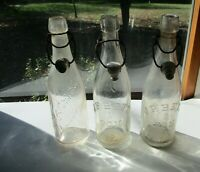 Vintage John F. Betz & Son Ltd. Philadelphia Pa 3 Beer Bottles