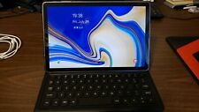 Samsung Galaxy Tab S4 10.5 tablet 256 GB with S Pen, Keyboard, and extra case
