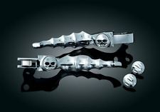 KURYAKYN CHROME ZOMBIE LEVERS FOR 1996-2007 HARLEY DAVIDSON ROAD KING MODELS HD