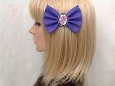 My little pony hair bow clip rockabilly pin up girl retro vintage purple kawaii