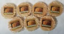 Yankee Candle Tarts: PUMPKIN BUTTERCREAM Wax Melts Lot of 7 Brown New