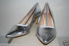 NWOB Banana Republic Womens Silver Elin Classic Pump High Heel Shoes 8 $110 NEW