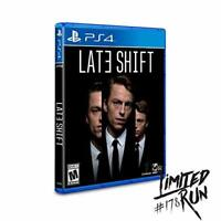 Late Shift For PlayStation 4 PS4 Brand New 0E