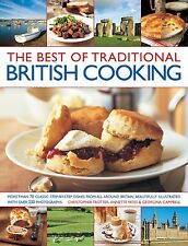 THE BEST OF TRADITIONAL BRITISH COOKING __ LIGHT SHELF WEAR __ FREEPOST UK