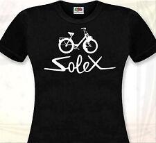 T-SHIRT FEMME SOLEX - Velomoteur Velosolex Cyclomoteur Vintage retro 3800