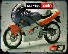 Aprilia Af1 125 Sport 88 02 A4 Photo Print Motorbike Vintage Aged