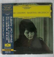MARTHA ARGERICH - Frederic Chopin JAPAN MINI LP CD NEU UCCG-9522 SEALED