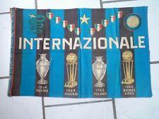 COLLECTOR - Drapeau - INTERNAZIONALE  (Inter Milan) - 1966 - VINTAGE