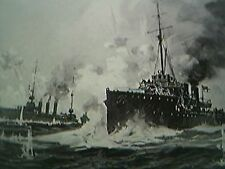 ephemera ww1 picture heligoland sea fight germans allies