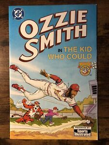 """Ozzie Smith in """"The Kid Who Could"""" (1992 DC) Tony the Tiger & Sports Illustrated"""