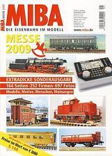 MIBA - Eisenbahn im Modell - Messe Sonderausgabe 2009 - 164 Seiten, 697 Fotos