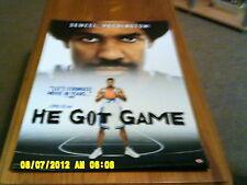 He Got Game (spike lee movie, denzel washington) A2 Movie Poster