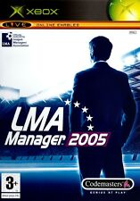 LMA Manager 2005 (Xbox) - Free Postage - UK Seller