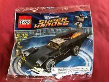 Lego 30161 DC Super Heroes BATMOBILE Batman Polybag New Unopened! Retired!