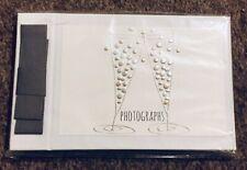 "Beautiful Pocket Photo Album Very Stylish Champagne Glasses Design ""Photographs"""
