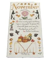 Susan Branch Stickers November Month 12727 Thanksgiving Topaz Chrysanthemum