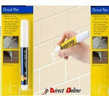 Tile Grout Pen Restore Revive White Refresher mould waterproof  Bathroom Paint