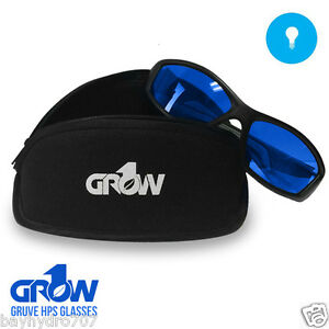 Grow1 GRUVE HPS Glasses Grow Room Ultra Violet Eliminators SAVE $ W/ BAY HYDRO !