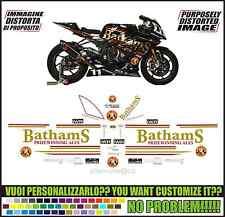 kit adesivi stickers compatibili s 1000 rr replica bathams iwr team bsb