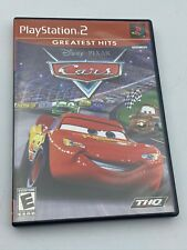 Cars Sony PlayStation 2 2006 CIB Complete Video Game Tested PS2 Disney Pixar
