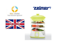 ~ NEW ZELMER ELECTRIC STEAMER STEAM COOKER ZSC1002L (SC1002) LIME herb aroma ~