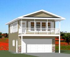 20x32 House -- 1 Bedroom -- 4:12 Roof Pitch -- PDF Floor Plan -- Model 7N