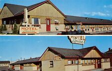Quebec Canada 1960s Postcard Motel Louise