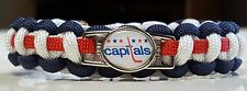 Washington Capitols Stanley Cup Paracord Bracelet or Lanyard or Deluxe Key Chain