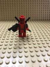 SH032 LEGO Super Heroes Minifigure Deadpool 6866 Wolverine's Chopper Showdown