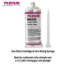 Plexus MA330 for Plastics Metals Composites 15-Min MMA Adhesive (33500) 50ml