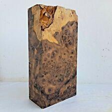 Vitex pinnata L. Amboyna Burl Exotic Black Wood Lumber Turning Block Blanks #4