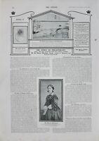 1902 PRINT STORY OF PHILANTHROPY HOSPITALS FLORENCE NIGHTINGALE
