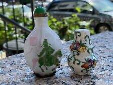 Lot of Two Chinese Snuff Bottles.