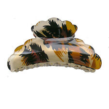 Hair Accessory - Leopard Skin Hair Jaw Claw Clip (STS04504)
