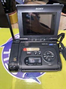 Sony GV-S50 NTSC Standard 8mm Video8 Video Walkman  Transfer ultra rare UNTESTED