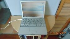 """Vintage 12"""" Apple Powerbook G4 Computer Tested and Working"""
