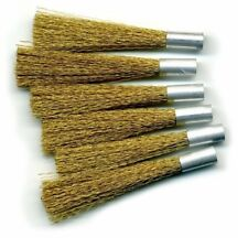 Bergeon 2834-LS Brass Scratch Brush Refills Pack of 6 - HS2834-LS