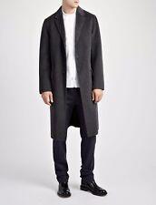 JOSEPH  Men's Grey Virgin Wool Trench Coat. Detachable gilet. UK 46 RRP £825 VGC