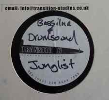"DUBPLATE: BASSLINE & DRUMSOUND - JUNGLIST - 12"" Acetate -   SALE PRICE !!!"