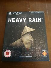 HEAVY RAIN [SPECIAL EDITION with TEXTURED SLIP CASE] – SONY PLAYSTATION PS3