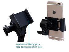 Metal Base Bicycle Bike Mount Handlebar Phone Stand Holder 360° Rotation Grip