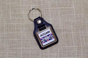 Triumph Acclaim Keyring - Leatherette & Chrome Keyfob