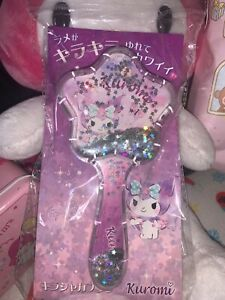 Kuromi Sanrio Hair Brush NEW LIMITED EDITION from Japan 🌸⭐️🌙