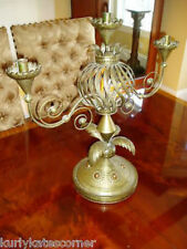 Rare Massive Antique Federal Candelabra Centerpiece