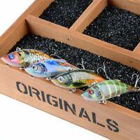 künstliche tragbare zwei haken vib fischköder plastik - schwer - - köder