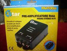 PRE-AMPLIFICATORE RIAA PHONO STEREO HI-FI