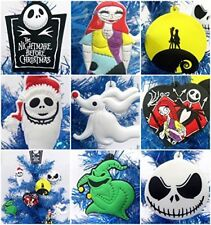 Nightmare Before Christmas 8 Piece Christmas Tree Ornament Set Featuring Jack.