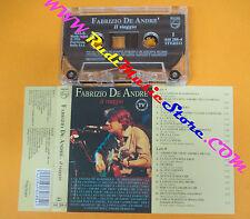 MC FABRIZIO DE ANDRE' Il viaggio 1991 italy PHILIPS 848 288-4 no cd lp dvd vhs